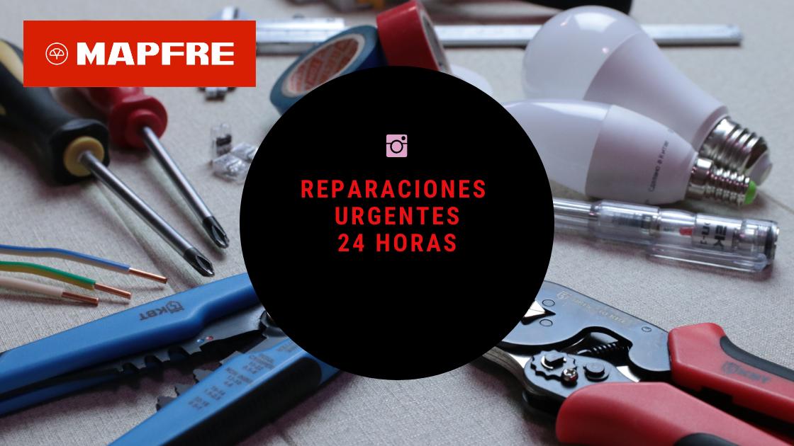 REPARACIONES URGENTES 24 HORAS MAPFRE