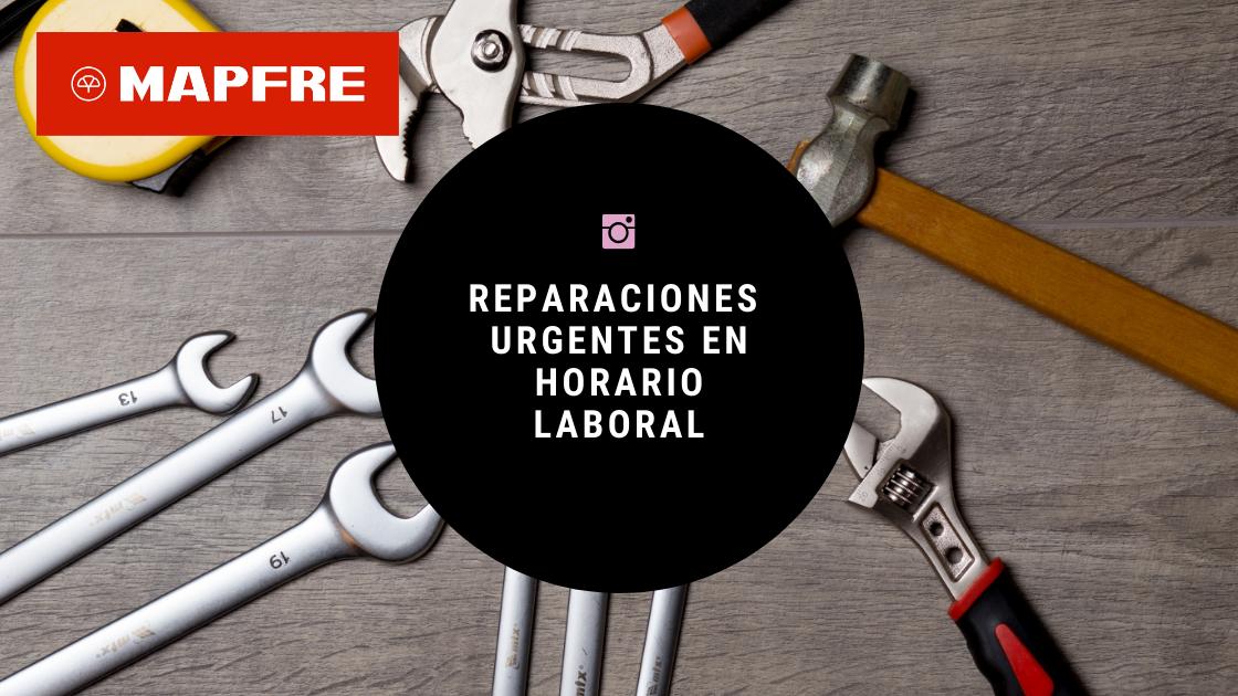 SERVICIOS REPARACIÓN EMERGENCIAS MAPFRE HORARIO LABORAL